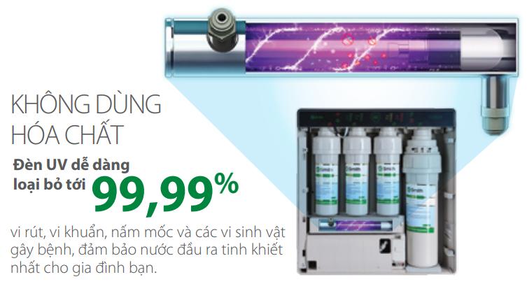 Công nghệ đèn UV diệt khuẩn
