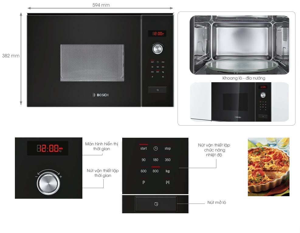 Chức năng bộ nhớ + chương trình nấu tự động cho món ăn thêm trọn vị