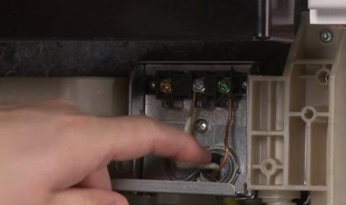 Ngắt kết nối máy rửa chén khỏi điện