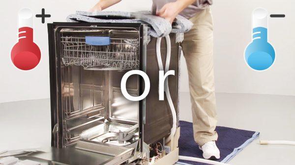 Có thể kết nối nước nóng với máy rửa chén Bosch không