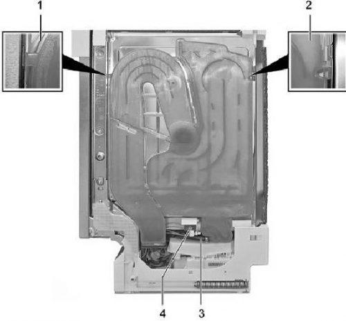 Thay thế bình chứa rượu trong máy rửa chén Bosch
