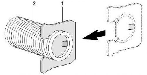 Thay thế lò xo cửa trong máy rửa chén Bosch