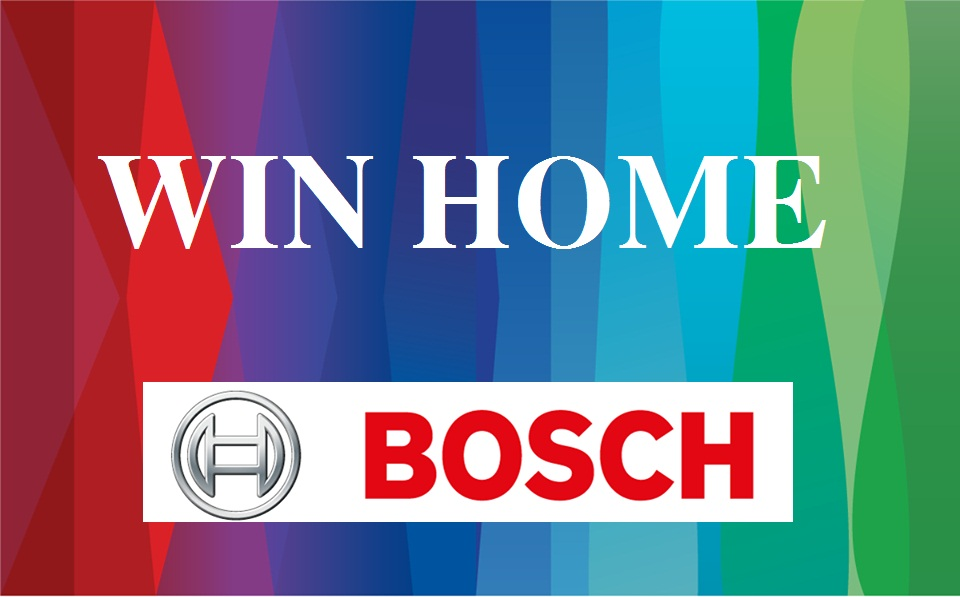 Bếp từ Bosch, máy rửa bát nhập khẩu Đức