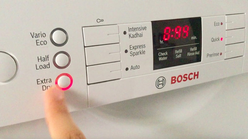 Máy rửa bát Bosch Extra Drying SMS46MI07E