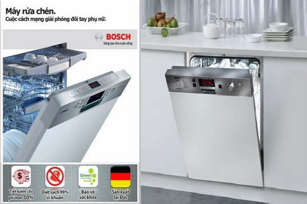 Máy rửa bát âm tủ loại nào tốt nhất hiện nay?
