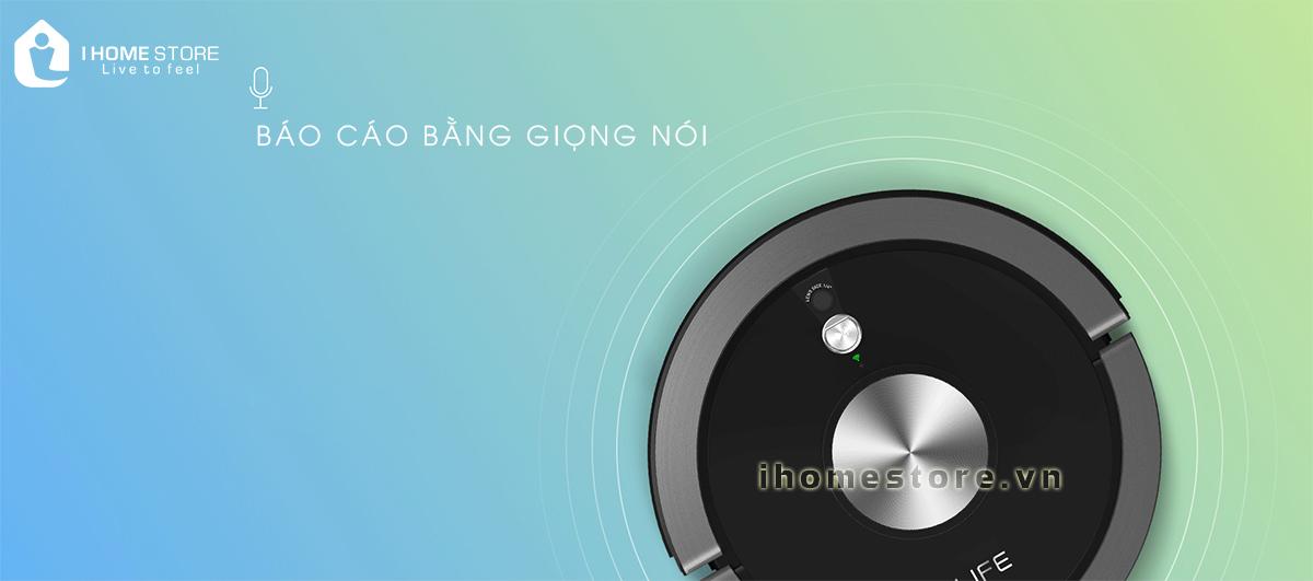 robot hut bui lau nha thong minh ILIFE X800 - ihomestore.vn