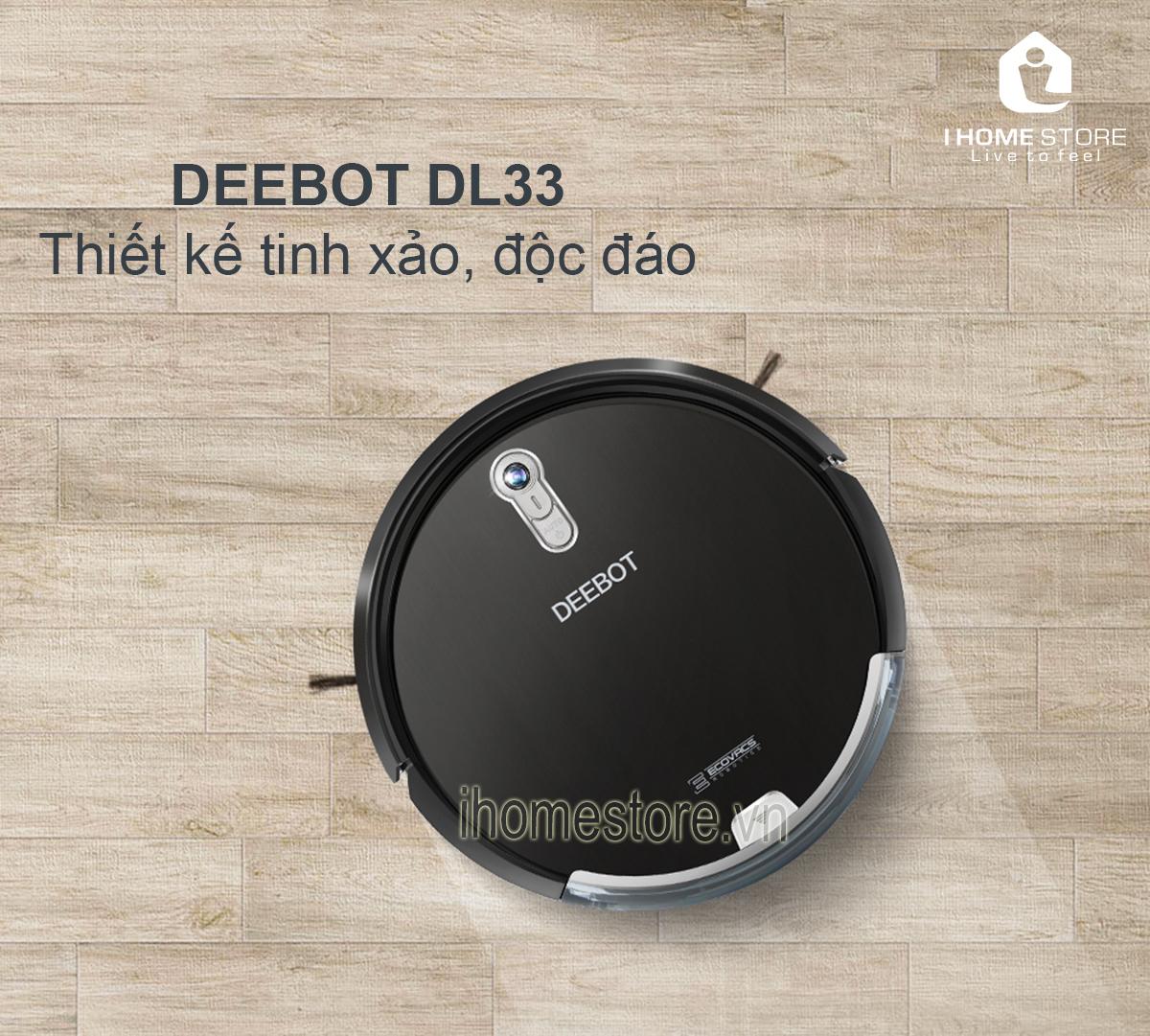 robot hut bui lau nha ecovacs deebot dl33 - ihomestore.vn