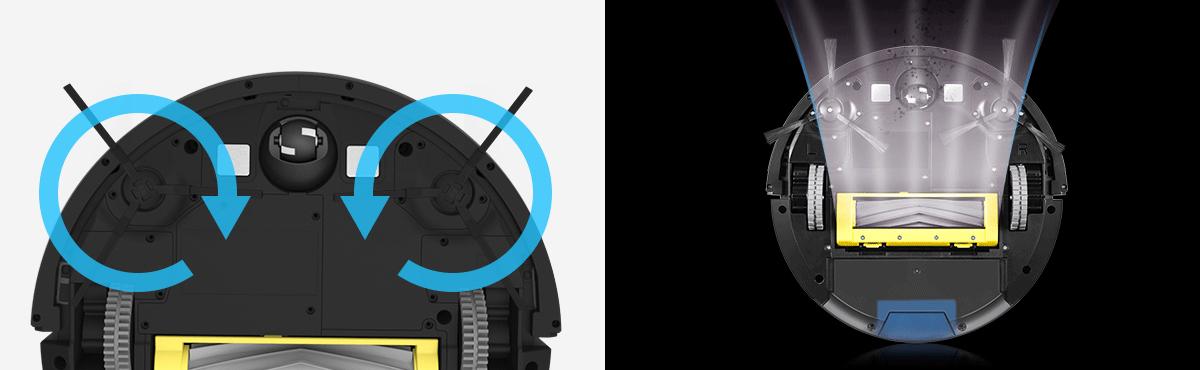 công nghệ hút bụi mới robot ilife a7