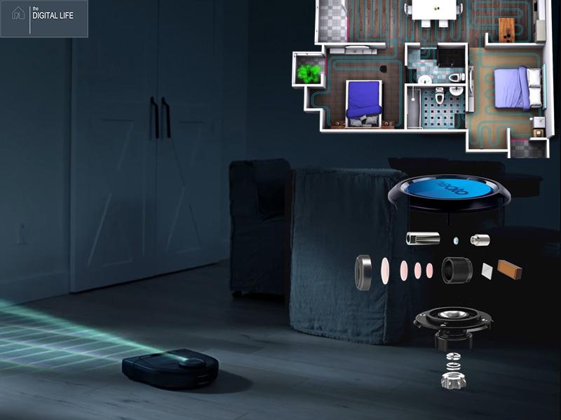 LaserSmart của robot Neato