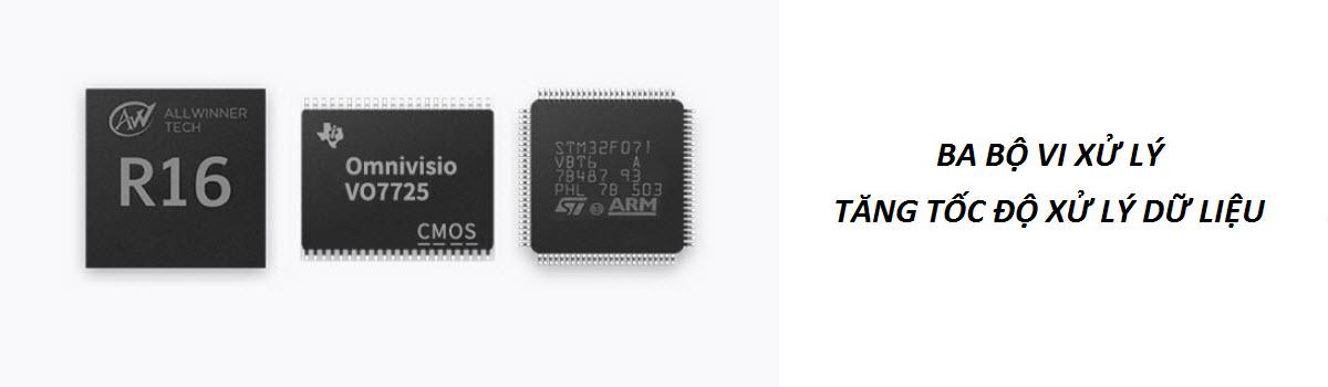 3 chip tăng tốc độ xử lý của robot ilife A8