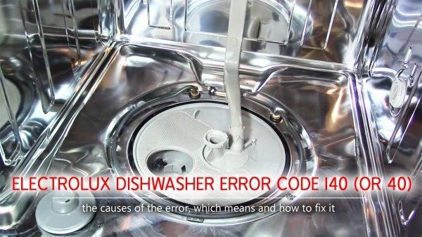 Mã lỗi máy rửa chén Electrolux i40, i43, i44 (hoặc 40, 43, 44)