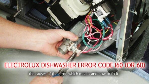 Mã lỗi máy rửa chén Electrolux i60 (hoặc 60)