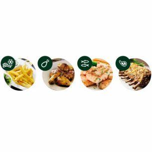 4 cài đặt sẵn cho các món ăn phổ biến nhất